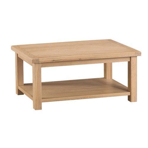 DOVIA (LO-CT) COFFEE TABLE - 1000(W) X 600(D) - WASHED OAK