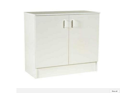 REXY (AUSSIE MADE) 2 DOOR BASE UNIT - 840(H) x 600(W) - WHITE