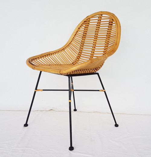 ASRI RATTAN / CANE CHAIR (MODEL: DET828) - NATURAL