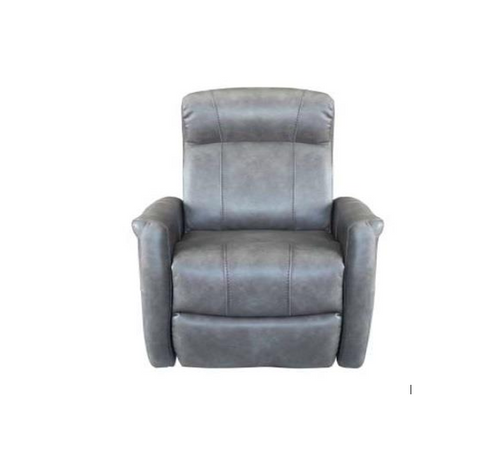ATLAS ELECTRIC LEATHER  RECLINER  CHAIR  - GREY