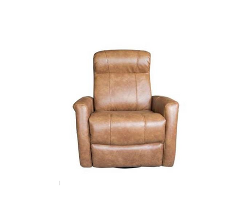 ATLAS ELECTRIC LEATHER  RECLINER  CHAIR  - TAN
