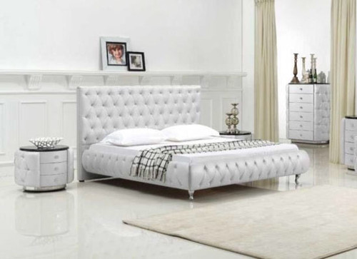 KING DIAMONDS BED (MODEL: B103#) - ASSORTED COLOURS
