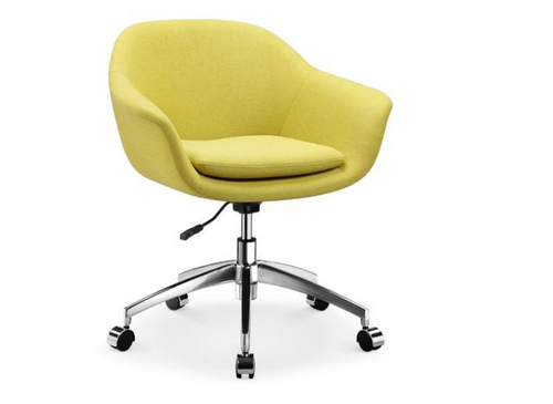 NORI  GAS LIFT OFFICE CHAIR (  HL-MK2303B-LM) -SEAT: 770-870(H) -LIME