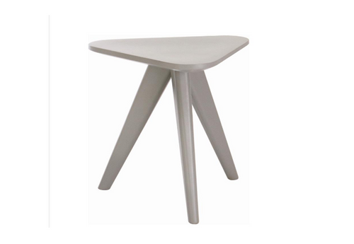 PETITE LOW  STOOL  - 47CM  - GREY