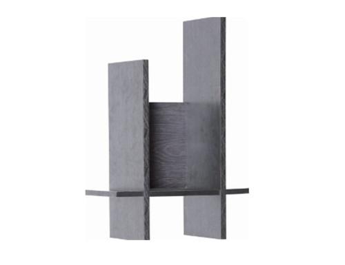 FICO DISPLAY WALL SHELF - 750(H) X 250(W) - BLACK