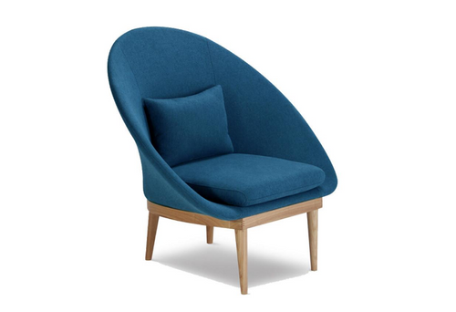 RILEY LEISURE CHAIR - BLUE