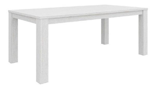 MILDRED    RECTANGULAR DINING TABLE  (6-12-15-9-14-1)  - 760(H) x 1900(L) x 1000(W)  WHITE WASH