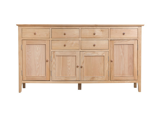 ROBINHOOD  (NT-4DT)  SIDEBOARD  BUFFET WITH 4 DOORS  & 6 DRAWERS - 850(H) X 1700(W)- OAK