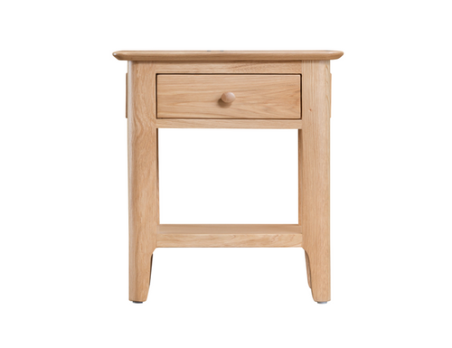 ROBINHOOD  (NT-SCUP)  SIDE TABLE WITH DRAWER  - OAK