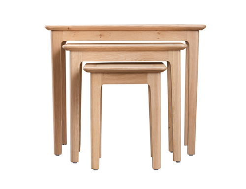 ROBINHOOD (NT-N3T) NEST OF 3 TABLES - OAK