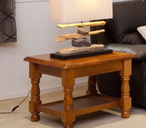 (MCOT-2C) LAMP TABLE WITH RACK