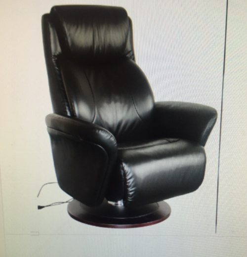 DOVER LEATHERR/PVC  TWIN MOTOR ELECTRIC LIFT CHAIR- BLACK OR MUSHROOM