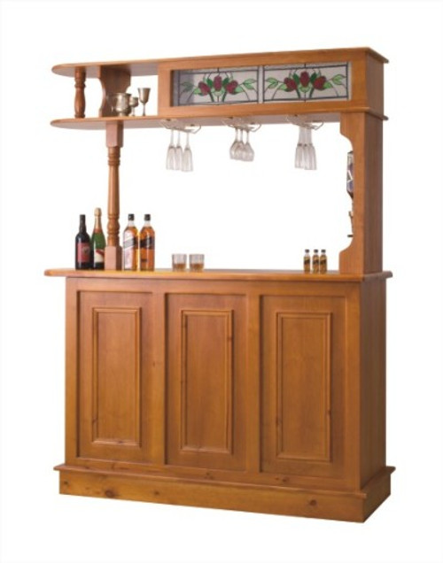 BAR (MBR-3MR) WITH FRIDGE SPACE & WINE DISPENSER