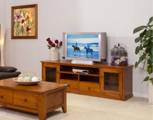 (WLDD) LOWLINE TV UNIT - 1970(W) - IMPORT COLOUR