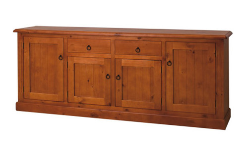 LAUCESTON (MBR-2180) BUFFET WITH 4 DOORS / 2 DRAWERS - 900(H) X 2180(W)- IMPORT COLOUR