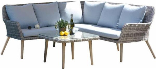 CORSO CORNER OUTDOOR  SOFA SETTING INDUDING COFFEE TABLE -