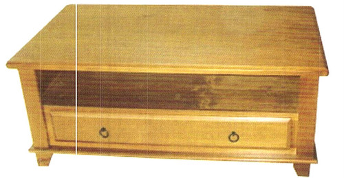 (WCOT-HB) COFFEE TABLE WITH 1 DRAWER AND SHELF -  1200(W) X 700(D)