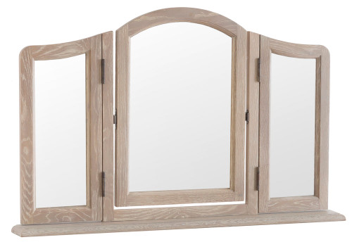 FABIAN TRINKET MIRROR  (FR- TM) - NATURAL
