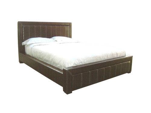 QUEEN EUROPA (BE-507) LEATHERETTE BED