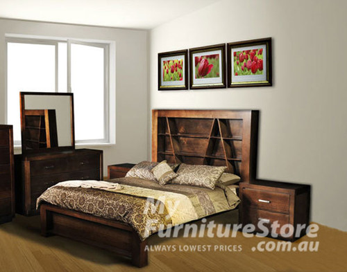 CHRISTIAN KING 5 PIECE BEDROOM SUITE - ASSORTED COLOURS