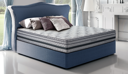 KING BARROSSA BASE ONLY (WITHOUT MATTRESS) - ASSORTED COLOURS AVAILABLE