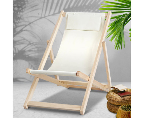 NAIN OUTDOOR FOLDABLE BEACH SLING CHAIR - AS PICTURED