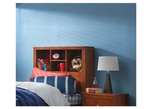 DOUBLE THOMAS BOOKEND BEDHEAD ONLY (MODEL 20-25-12-5-18) - ASSORTED PAINTED AND WASHED COLOURS (NOT AS PICTURED)