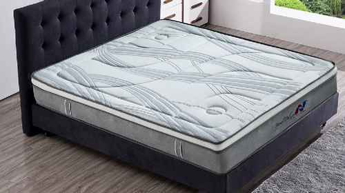 QUEEN SPINAL DELUXE (LIM1011) ENSEMBLE (BASE + MATTRESS) WITH BODY CARE (SWB) BASE (NOT PICTURED) - SUPER FIRM