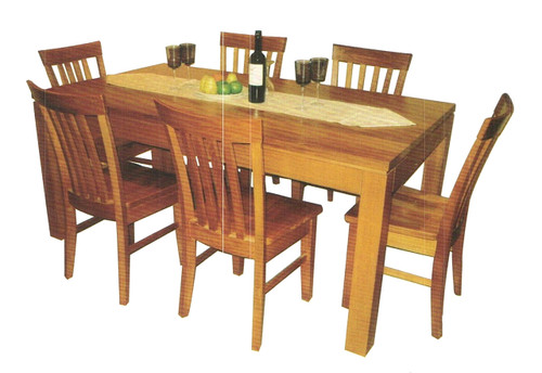 SQUARE DINING TABLE WITH 8 X DINING CHAIRS (NOT AS PICTURED)