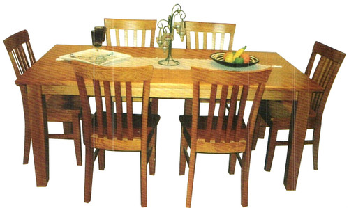 INCLUDES 8 X DINING CHAIRS (NOT AS PICTURED)