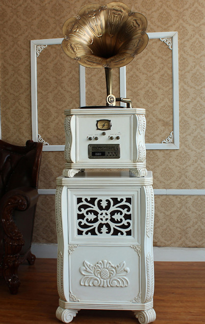 TRADITIONAL MUSIC SYSTEM  -  (MODEL - X6) -  WHITE OR  BROWN