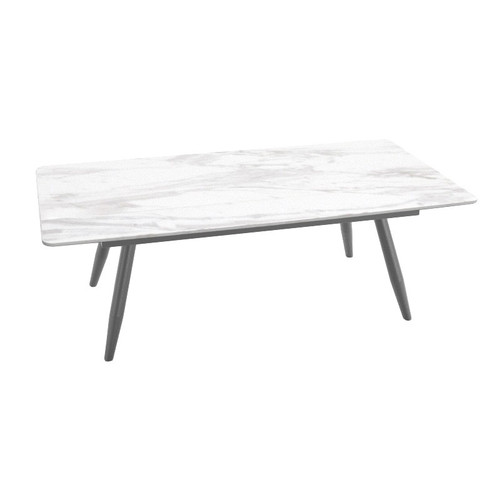 CLENDON MARBLE  COFFEE T TABLE   - (MODEL: 9105)  -  1200(W) x  600(D) -AS PICTURED