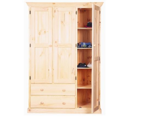 """COMBINATION  4""""  1800(H) X 1200(W) COMBINATION WARDROBE  - (MODEL:2.0M X 2.0M) - COLOR AS PICTURED"""