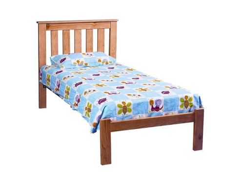 BUDGET  QUEEN  BED -  COLOUR AS PICTURED