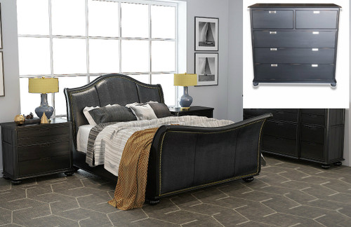 MALLEE  QUEEN 4 PIECE (TALLBOY) BEDROOM SUITE  -  AS PICTURED