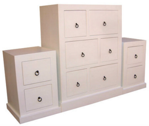 BONO (AUSSIE MADE) 3 PIECE CHEST SET (6+2+2) - ASSORTED PAINTED COLOURS