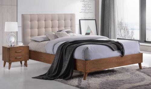 AMINA DOUBLE OR QUEEN 3 PIECE BEDSIDE BEDROOM SUITE - (14-15-15-19-1) - 2 TONE