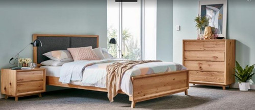 BOSTON  QUEEN  3 PIECE BEDSIDE   BEDROOM SUITE - AS PICTURED