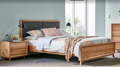 BOSTON  QUEEN  3 PIECE BEDSIDE   BEDROOM SUITE - AS PICTURED