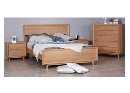 SPRINGWOOD  KING 4 PIECE TALLBOY  BEDROOM SUITE