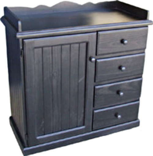 BABY CHANGE TABLE  4 DRAWERS / 1 DOOR - 1030(H) X 1060(W) - ASSORTED COLOURS AVAILABLE