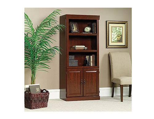 HERITAGE HILL LIBRARY / WALL UNIT WITH DOORS - 1810(H) x 757(W) - CHERRY