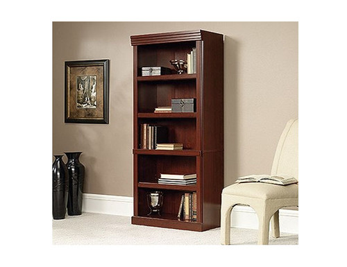 HERITAGE HILL LIBRARY / BOOKCASE WITH 5 SHELVES - 1810(H) X 757(W) - CHERRY