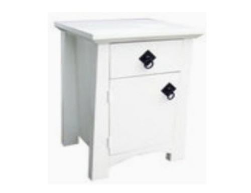 TOKYO (AUSSIE MADE) 1 DRAWER / 1 DOOR BEDSIDE TABLE  - 660(H) x 430(W) - PAINTED COLOURS