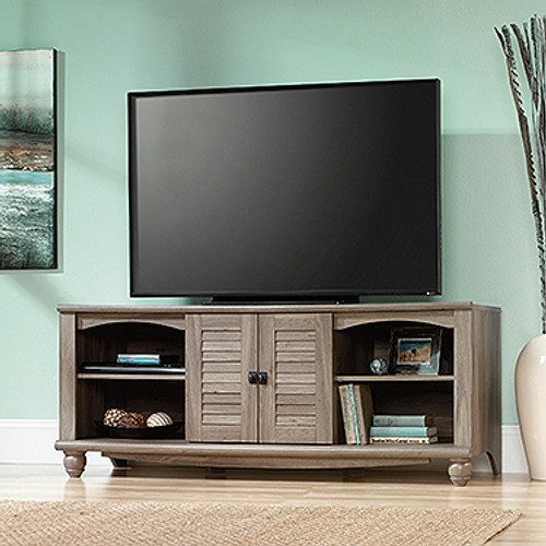 HARBOR TV ENTERTAINMENT UNIT - 640(H) x 1592(W) - SALT OAK FINISH