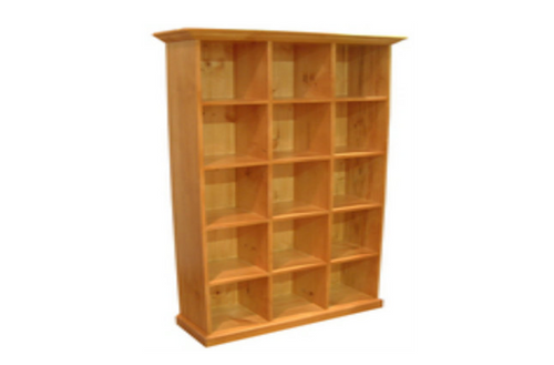 FEDERATION CUBIC BOOKCASE + 15 BOX -  1800(H) X 900(W) - ASSORTED COLOURS AVAILABLE