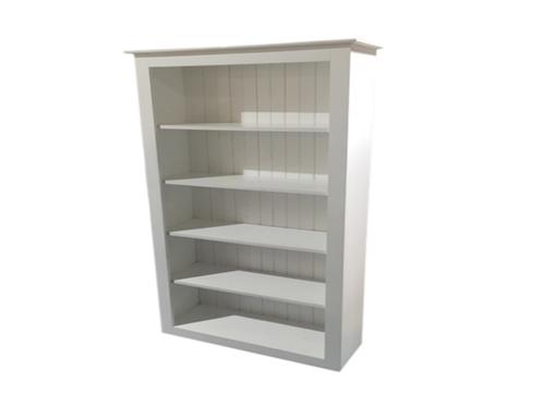 RETRO BOOKCASE - 1800(H) X 600(W) - WHITE