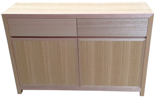 MORGAN  2 DRAWERS 2 DOORS BUFFET - TASSIE OAK -   900(H) X 1300(W)  - ASSORTED COLOURS