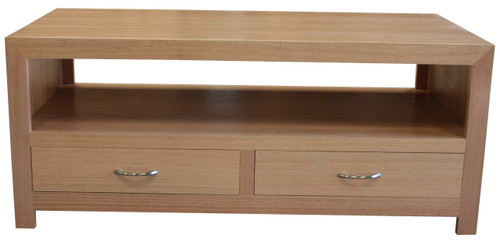 MORGAN  2 DRAWERS COFFEE TABLE  - TASSIE OAK -    - ASSORTED COLOURS