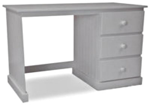 MUDGEE (AUSSIE MADE) DESK (4X2) WITH 3 DRAWERS WITH FOOT REST - 760(H) X 1200(W) X 600(D) - ASSORTED COLOURS